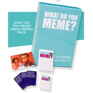 What Do You Meme Fresh Memes Expansion Pack