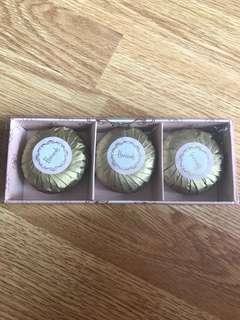 Harrods English Rose Soap set