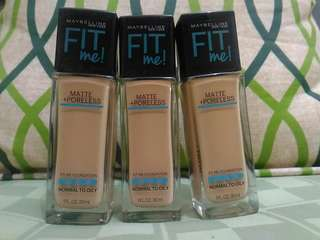 Maybelline fit me (220 Natural beige)