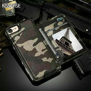 Camouflage Kickstand Case For iPhone 6 6S Plus 7 7 Plus