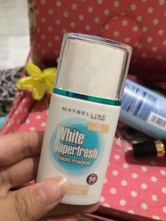 Maybelline white superfresh ivory