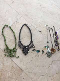 Necklaces going for CHEAP