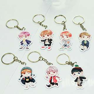 BTS Member Keychain #20under
