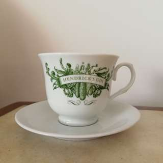 Hendricks gin Cups And Saucers