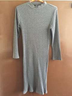 forever 21 gray dress