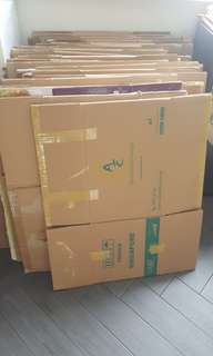 Used Thick Box Cartons
