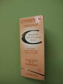 Coverderm Concealer Waterproof with anti-aging factors