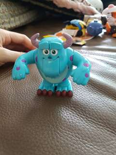 sully monster inc wind up walking
