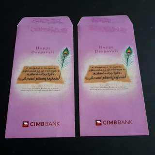 Angpao Money Packet Deepavali Cimb Bank