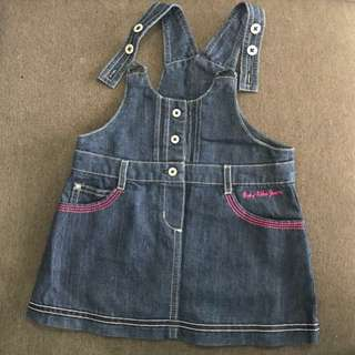Jeans dress 6-12 month