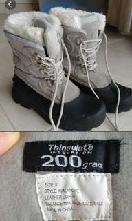 Winter snow waterproof boots ladies
