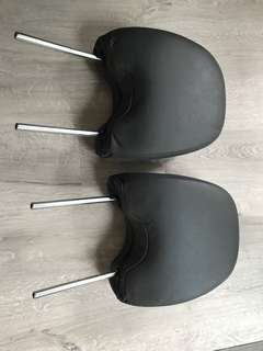 Original Subaru Forester '09 Leather Headrest Front set