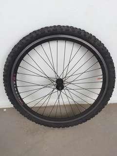 "26"" Tyre/Rim Wheelset"