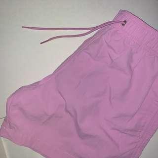 H&M Pink Swim Shorts