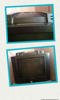 TV with built-in Radio (FM/AM)