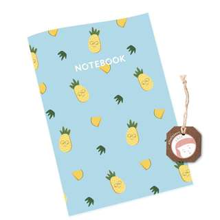 Cute Pineapple Notebook ((NEW))