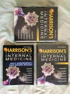 Harrison's Principles of Internal Medicine (19th Edition, 2 vol + DVD) and Self-Assessment for Boards