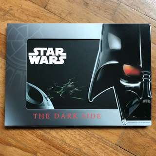Limited edition Star Wars collectible stamp book
