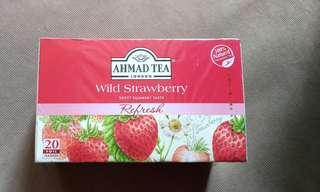 AHMAD TEA Wild strawberry  士多啤梨 茶包 草本 花茶
