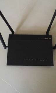 Asus RT-AC1200G router and huawei network terminal