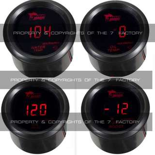 52mm BF Amber / Blue Meter Gauges