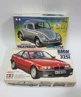 Tamiya cars.
