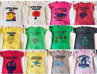 Little Miss TOP Collection (T-shirts)