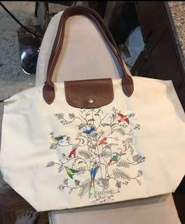 Preloved Longchamp Le Pliage Limited Edition Large Tote