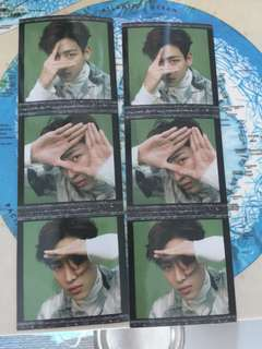 Got7 bambam eyes on you preorder stickers