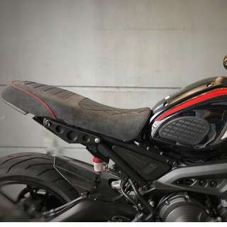 Moto Addict Singapore Yamaha XSR 900 Custom Rumble Seat ! Ready Stock ! Promo ! Do Not PM ! Kindly Call Us ! Kindly Follow Us !