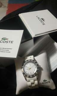 Guaranteed Authentic Lacoste Watch