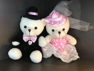 Wedding car decoration chest