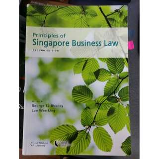 SMU BLAW LGST101 Textbook + Notes