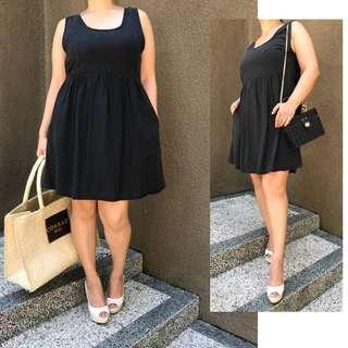 50% Disc. Beach Black Mini Dress