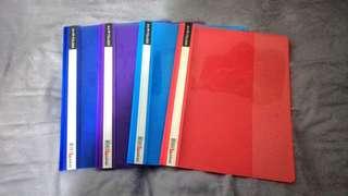 Pending Set Of A4 Clear Plastic Folder