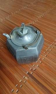 古董錫製溫酒壺