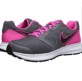 *price reduced* Nike Downshifter 6 Dark Grey Pink Foil White Black Women Running Shoes