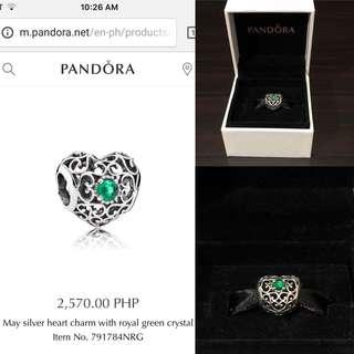 Pandora May Heart Charm