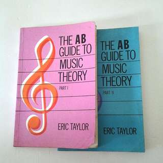 AB Guide To Music Theory Books (Set Of 2 )