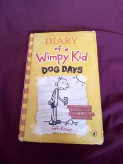 Diary of a Wimpy Kid Dog Days!