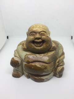 Unique Marble laughing buddha