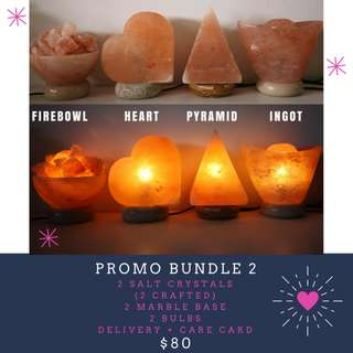 Crafted Himalayan Salt Lamps with Free Delivery