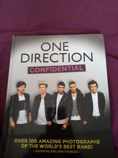 "One Direction ""Confudential"" book!"