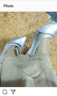 Verns Cinderella Silver Heels