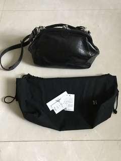 Yohji Yamamoto - Y's round clasp bag