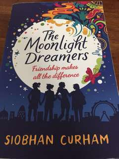 Almost new Siobhan Curham book-The Moonlight Dreamers
