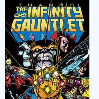 The  Infinity Gauntlet 01-06 1991 comic ebook