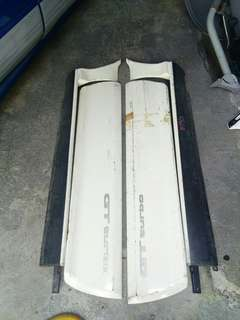 Side skirt toyota starlet ep82