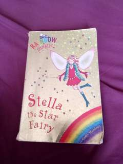 "Rainbow Magic ""Stella the star fairy"" book"