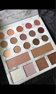 Bh cosmetics eyeshadow palette 雲石包裝